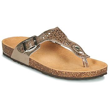 Chaussures Femme Sandales et Nu-pieds André RILA Doré