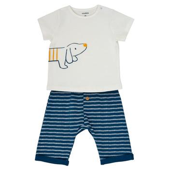Vêtements Garçon Ensembles enfant Noukie's MALO Blanc