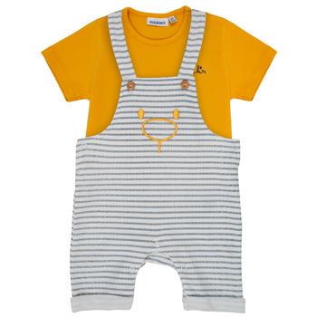 Vêtements Garçon Ensembles enfant Noukie's YOUSSEF Jaune