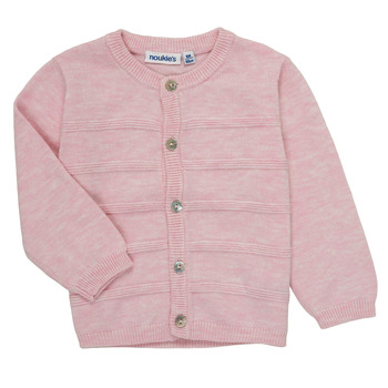 Vêtements Fille Gilets / Cardigans Noukie's NOAM Rose