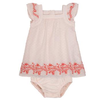 Vêtements Fille Robes courtes Carrément Beau SAMY Rose