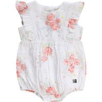 Vêtements Fille Combinaisons / Salopettes Carrément Beau KAIS Blanc