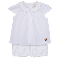 Vêtements Fille Ensembles enfant Carrément Beau LORELLI Blanc
