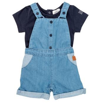 Vêtements Garçon Ensembles enfant Carrément Beau OTIS Bleu
