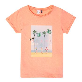 Vêtements Fille T-shirts manches courtes 3 Pommes LEA Orange