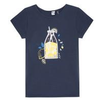 Vêtements Fille T-shirts manches courtes 3 Pommes LOGAN Bleu