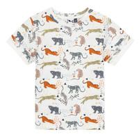 Vêtements Garçon T-shirts manches courtes 3 Pommes ARIANE Orange