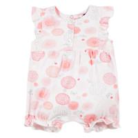 Vêtements Fille Combinaisons / Salopettes 3 Pommes ELOISE Blanc