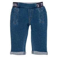 Vêtements Garçon Pantalons 5 poches Timberland VALENTIN Bleu