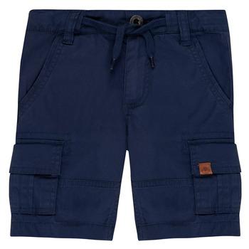 Vêtements Garçon Shorts / Bermudas Timberland LUKA Bleu