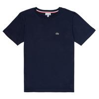 Vêtements Garçon T-shirts manches courtes Lacoste NAE Marine