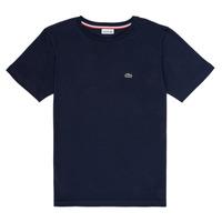 Vêtements Garçon T-shirts manches courtes Lacoste KETLEEN Marine