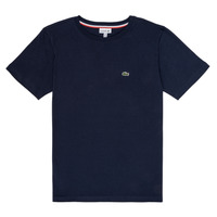 Vêtements Garçon T-shirts manches courtes Lacoste JUSTYNE Marine