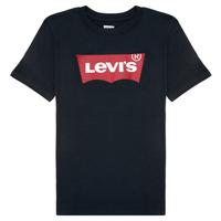 Vêtements Garçon T-shirts manches courtes Levi's BATWING TEE Noir