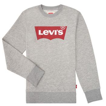 Vêtements Garçon Sweats Levi's BATWING CREWNECK Gris