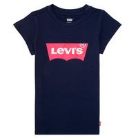 Vêtements Fille T-shirts manches courtes Levi's BATWING TEE Marine