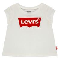 Vêtements Fille T-shirts manches courtes Levi's BATWING TEE Blanc