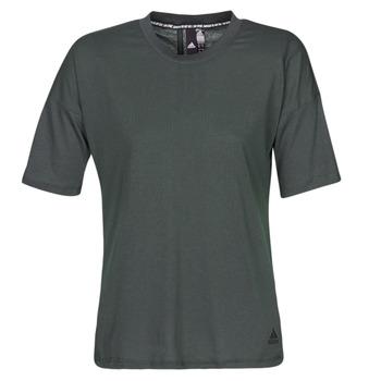 Vêtements Femme T-shirts manches courtes adidas Performance W MH 3S Tee Noir