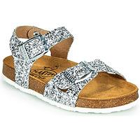 Chaussures Fille Sandales et Nu-pieds Plakton LISA Argenté