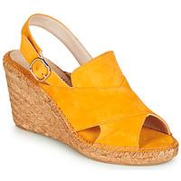 Chaussures Femme Sandales et Nu-pieds Fericelli MARIE Jaune