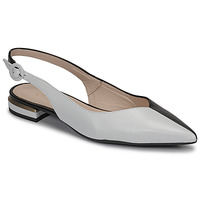 Chaussures Femme Ballerines / babies Fericelli MANU Noir et blanc