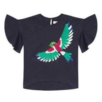 Vêtements Fille T-shirts manches courtes Catimini MATIGNON Bleu