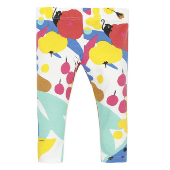 Vêtements Fille Leggings Catimini ROXANE Blanc