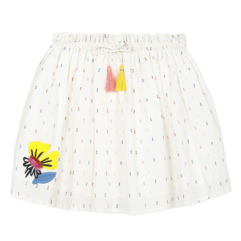 Vêtements Fille Jupes Catimini ALINA Blanc
