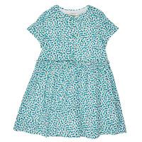 Vêtements Fille Robes courtes Catimini ELLA Vert / Bleu