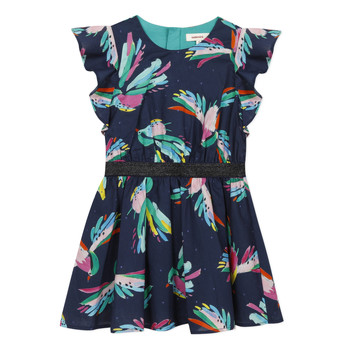 Vêtements Fille Robes courtes Catimini CESAR Bleu