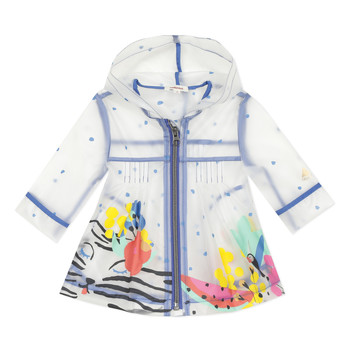Vêtements Fille Parkas Catimini SLOVANNA Blanc