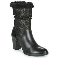 Chaussures Femme Bottes ville Caprice LOTIMA Noir