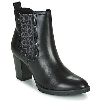 Chaussures Femme Bottines Caprice LUTIMA Noir