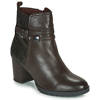 Chaussures Femme Bottines Caprice LUNITONE Marron