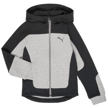Vêtements Garçon Sweats Puma EVOST HOOD JKT Gris