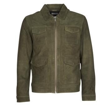 Vêtements Homme Vestes en cuir / synthétiques Selected SLHRALF Kaki