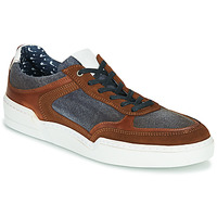 Chaussures Homme Baskets basses Casual Attitude MELISSI cognac