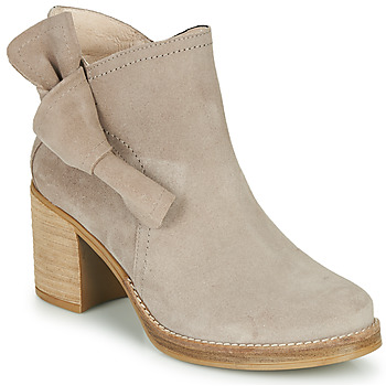 Chaussures Femme Bottines Casual Attitude HIRCHE Taupe