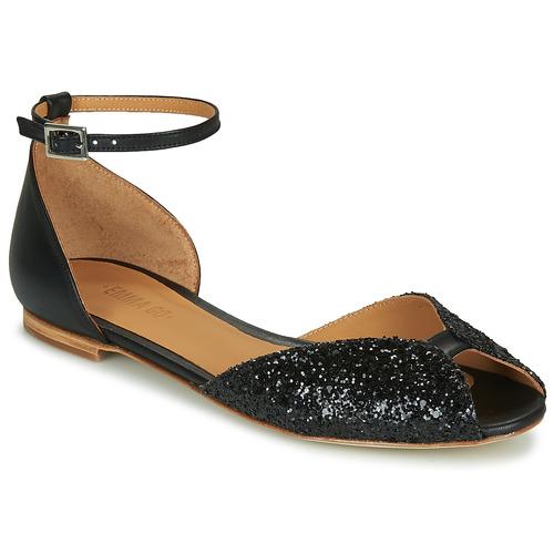Chaussures Femme Sandales et Nu-pieds Emma Go JULIETTE Noir