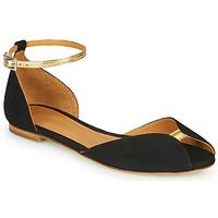 Chaussures Femme Sandales et Nu-pieds Emma Go JULIETTE Noir / Doré