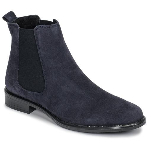 Chaussures Femme Boots Betty London NORA Marine croûte