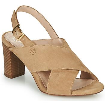 Chaussures Femme Sandales et Nu-pieds Betty London MARIPOL Beige