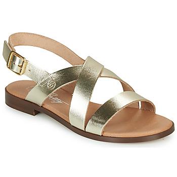Chaussures Femme Sandales et Nu-pieds Betty London MADISSON Doré