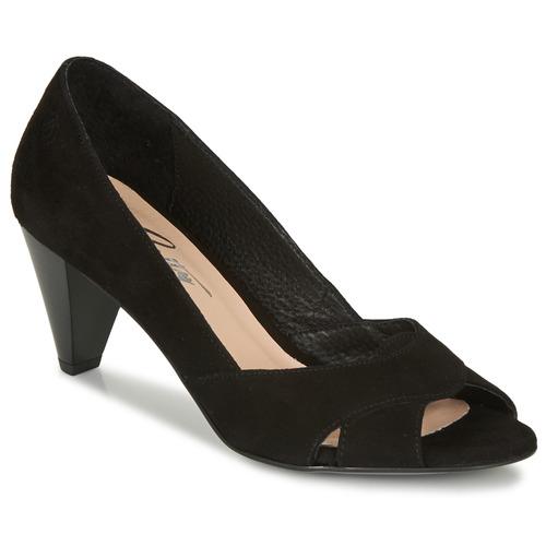 Chaussures Femme Escarpins Betty London MIRETTE Noir suede