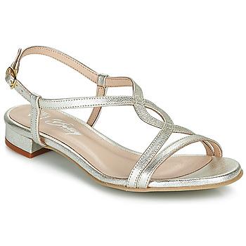 Chaussures Femme Sandales et Nu-pieds Betty London MATISSO Argenté