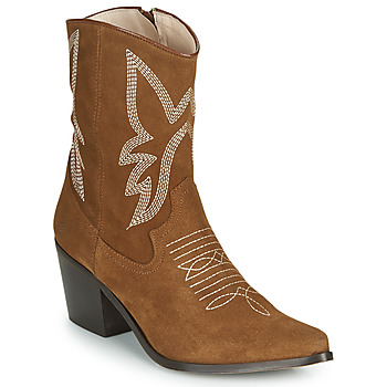 Chaussures Femme Bottines Betty London MOSSINO Camel