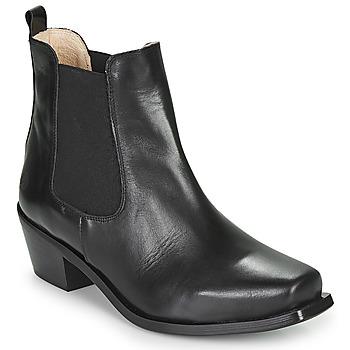 Chaussures Femme Bottines Betty London MERKATO Noir