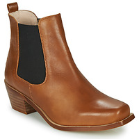 Chaussures Femme Bottines Betty London MERKATO Cognac