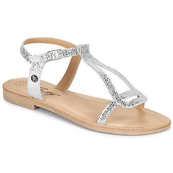 Chaussures Femme Sandales et Nu-pieds Betty London MISSINE Argenté