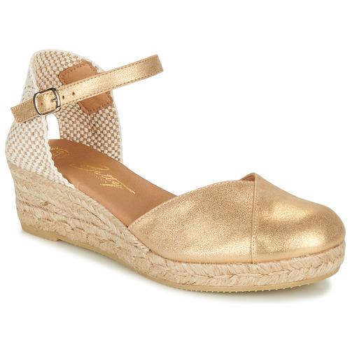 Chaussures Femme Sandales et Nu-pieds Betty London INONO Doré